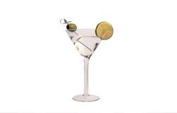 Bevanda del cocktail di martini di vodka Fotografia Stock