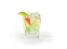 Bevanda del limone della calce Fotografia Stock