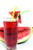 Bevanda dell'anguria Fotografie Stock