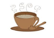 Bevanda della bevanda della tazza di caffè Fotografia Stock