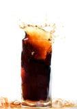 Bevanda della cola fotografie stock