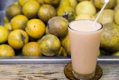 Bevanda della frutta fresca Fotografie Stock
