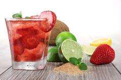 Bevanda della frutta fresca Fotografie Stock Libere da Diritti