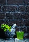 Bevanda della menta Fotografie Stock Libere da Diritti