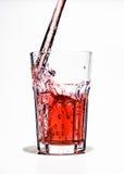 Bevanda della spruzzata fotografie stock libere da diritti
