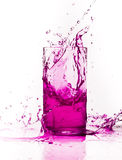 Bevanda della spruzzata Immagini Stock Libere da Diritti