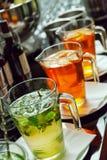Bevanda della Tabella Immagine Stock Libera da Diritti