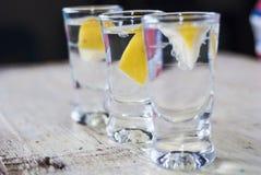 Bevanda della vodka Fotografia Stock Libera da Diritti