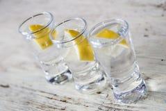 Bevanda della vodka fotografia stock