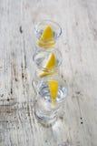 Bevanda della vodka immagine stock