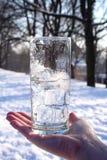 Bevanda dello Snowy Fotografia Stock Libera da Diritti