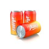 Bevanda di energia Fotografia Stock