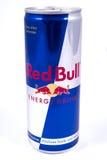 Bevanda di energia di Red Bull Fotografia Stock Libera da Diritti