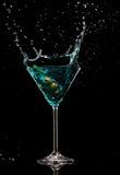Bevanda di Martini Fotografia Stock Libera da Diritti