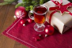 Bevanda di Natale Fotografia Stock Libera da Diritti