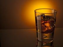 Bevanda di notte fotografia stock