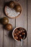 Bevanda di raffreddamento di Luo Han Guo Herbal fotografia stock libera da diritti