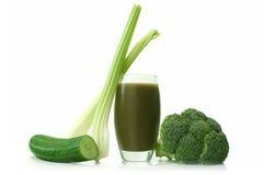 Bevanda di verdure della disintossicazione Fotografia Stock