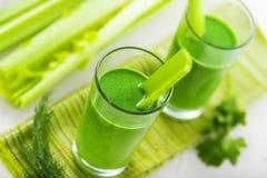 Bevanda di verdure sana Immagine Stock