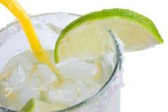 Bevanda e calce Immagine Stock