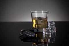 Bevanda ed azionamento Fotografia Stock Libera da Diritti