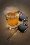 Bevanda ed azionamento di Don?t Fotografie Stock