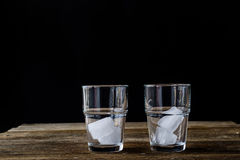 Bevanda fredda con il limone Fotografia Stock