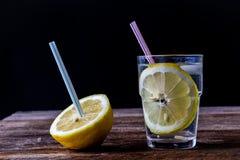 Bevanda fredda con il limone Immagine Stock