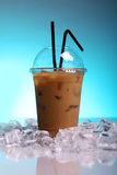 Bevanda fredda del caffè Fotografie Stock