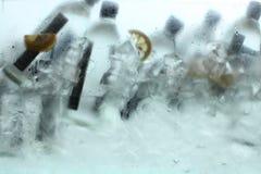 Bevanda fredda del ghiaccio Immagini Stock