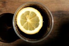 Bevanda fredda della cola Fotografie Stock Libere da Diritti