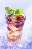 Bevanda fredda di estate Fotografie Stock Libere da Diritti