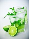 Bevanda fredda di mojito Immagini Stock Libere da Diritti