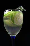 Bevanda fresca della calce Immagini Stock Libere da Diritti