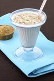 Bevanda fresca della farina d'avena o dell'avena Fotografie Stock Libere da Diritti