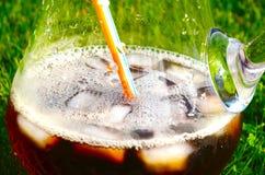 Bevanda fresca di estate Fotografie Stock Libere da Diritti