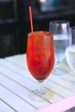 Bevanda ghiacciata. Fotografia Stock Libera da Diritti