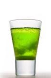 Bevanda ghiacciata dell'assenzio fotografia stock