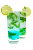 Bevanda lunga di Mohito Fotografia Stock