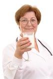 Bevanda nutriente Fotografia Stock Libera da Diritti