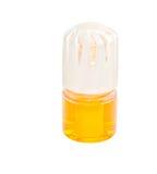 Bevanda rinfrescante di aria in contenitore di vetro Fotografia Stock