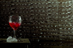 Bevanda rossa Fotografia Stock