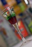 bevanda Rosso-verde Fotografie Stock Libere da Diritti