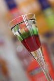 bevanda Rosso-verde Fotografia Stock