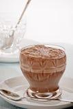 Bevanda spessa del latte al cioccolato Immagine Stock Libera da Diritti