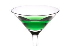 Bevanda verde fotografie stock libere da diritti