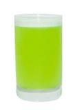 Bevanda verde del colpo Immagine Stock