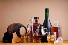 Bevande alcoliche Fotografie Stock Libere da Diritti