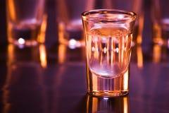 Bevande in barra Immagine Stock Libera da Diritti