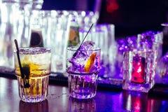 Bevande dai colori immagine stock